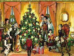 traditional christmas - Origin Of Christmas Tree