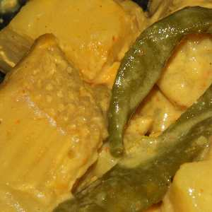 Sri Lankan Food: Breadfruit Curry